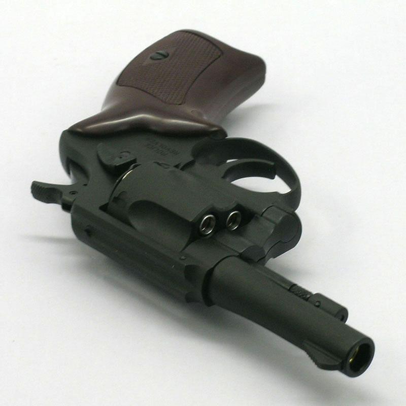 画像3 6mmポリスリボルバー・3インチ【6mmBB/Xカートリッジ】 HW