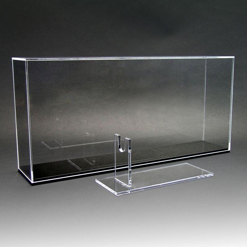 画像1: NODA-YAオリジナル・アクリル・ディスプレイ・ケース[Lサイズ]&アクリル・ガンスタンドVer.1・セット