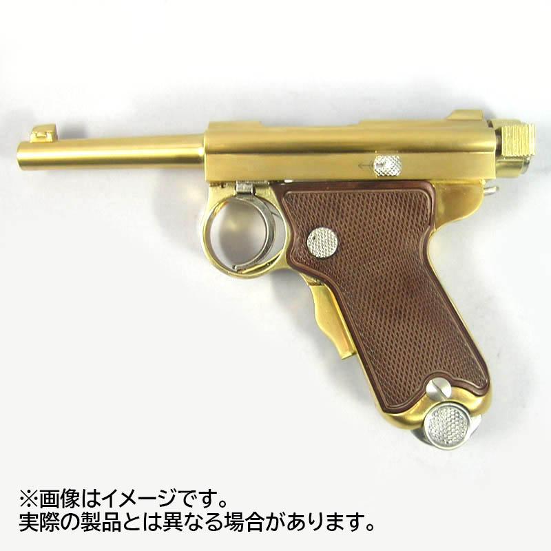 画像2: 南部式小型拳銃[東京ガス電気工業刻印/ダミーカートモデル]桐箱入り  金属・ダミーカート式モデル(マルシン)