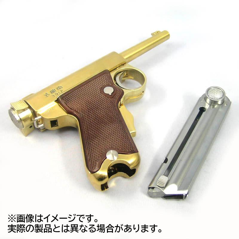 画像5: 南部式小型拳銃[東京ガス電気工業刻印/ダミーカートモデル]桐箱入り  金属・ダミーカート式モデル(マルシン)