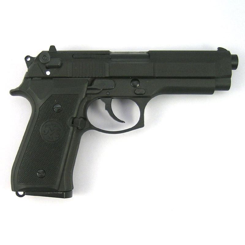 画像2: U.S.N M9ドルフィン [ブラック] HW・BLKモデルガン(マルシン)