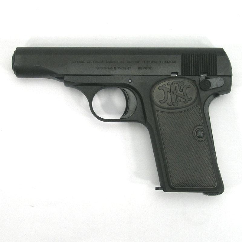 画像1: ブローニングM1910[HW]  ブラックHW・BLKモデルガン(マルシン)