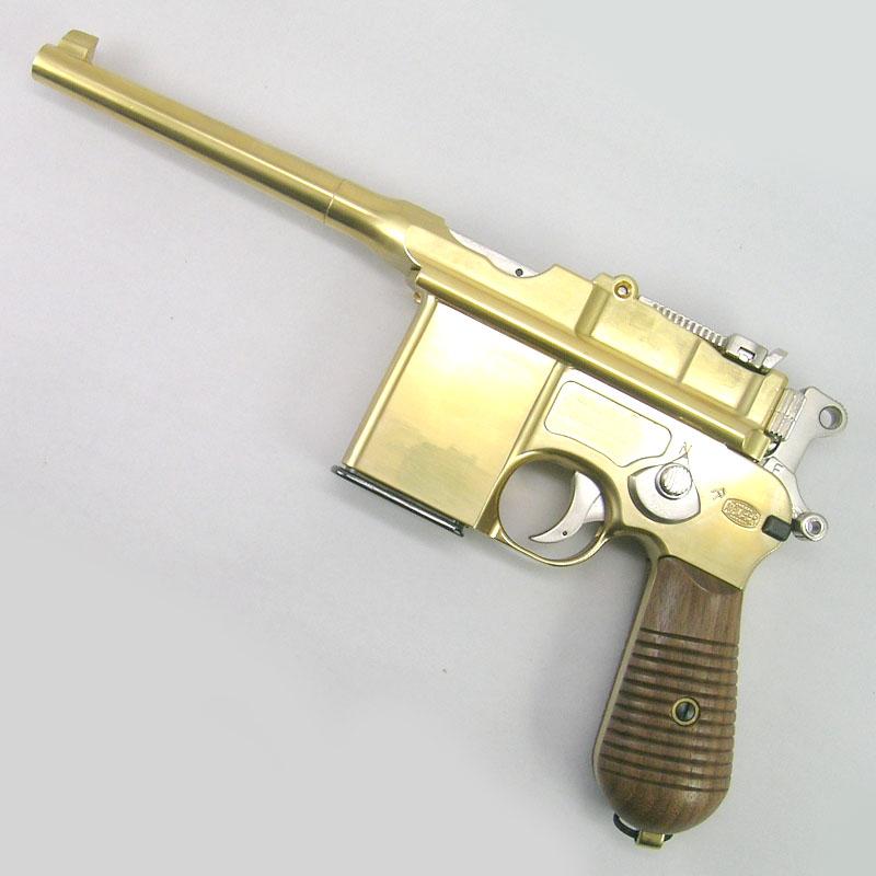 画像1: モーゼルM712 金属・BLK式モデルガン(マルシン)