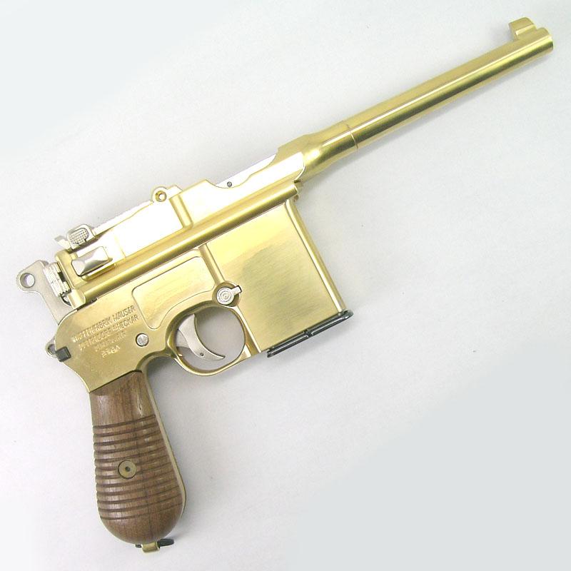 画像2: モーゼルM712 金属・BLK式モデルガン(マルシン)