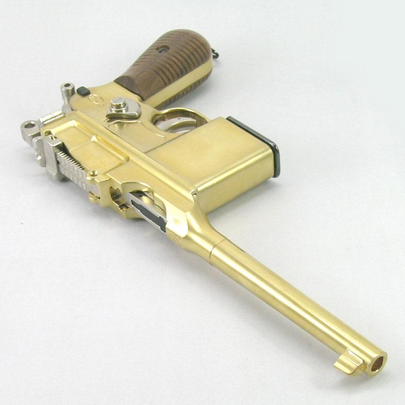 画像3: モーゼルM712 金属・BLK式モデルガン(マルシン)
