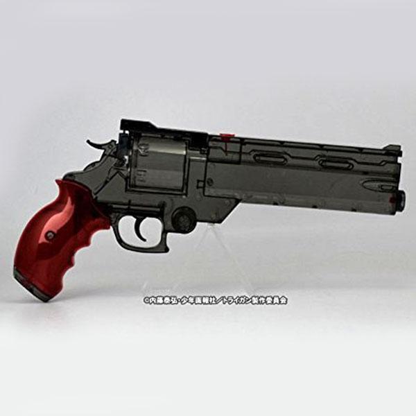 画像2: 劇場版トライガン「BADLANDS RUMBLE」より ヴァッシュの銃 ウォーターガン [クリアブラックVer.] PS製(Fullcock/アルゴ舎)