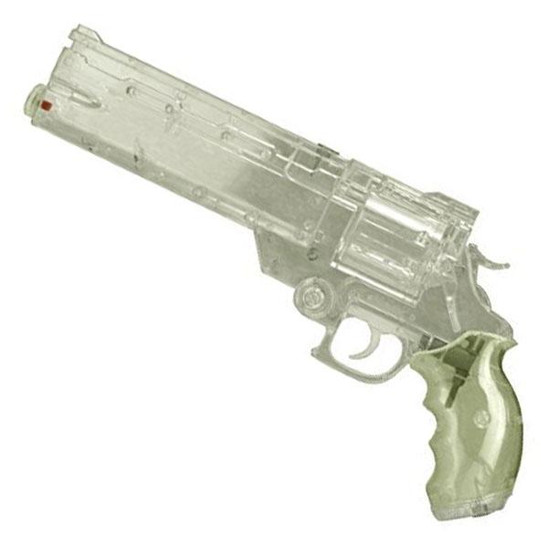 画像1: 劇場版トライガン「BADLANDS RUMBLE」より ヴァッシュの銃 ウォーターガン [オールクリアVer.] PS製(Fullcock/アルゴ舎)