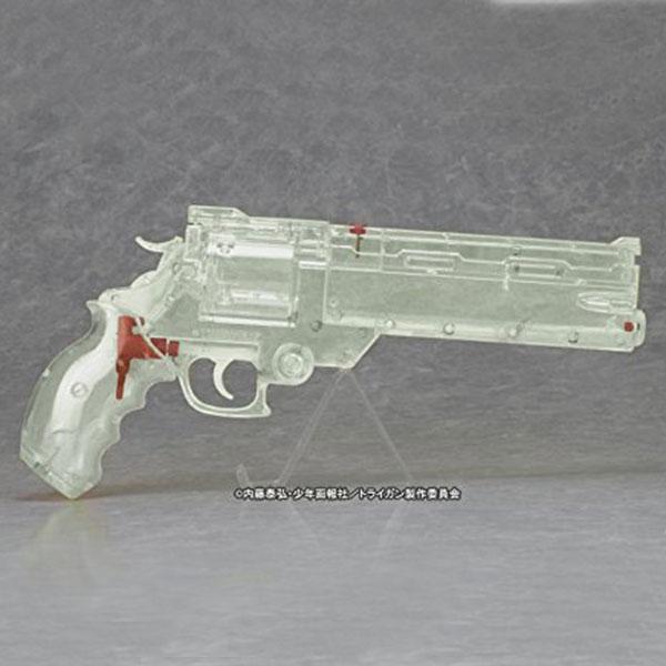 画像2: 劇場版トライガン「BADLANDS RUMBLE」より ヴァッシュの銃 ウォーターガン [オールクリアVer.] PS製(Fullcock/アルゴ舎)