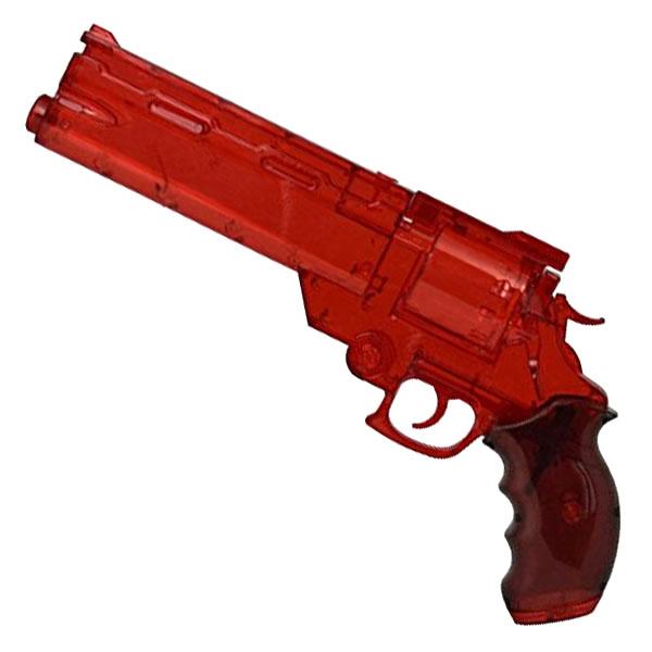画像1: 劇場版トライガン「BADLANDS RUMBLE」より ヴァッシュの銃 ウォーターガン [クリアレッドVer.] PS製(Fullcock/アルゴ舎)