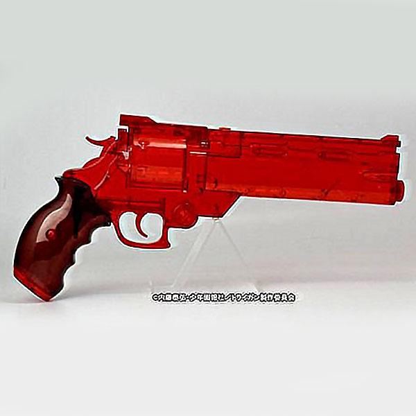 画像2: 劇場版トライガン「BADLANDS RUMBLE」より ヴァッシュの銃 ウォーターガン [クリアレッドVer.] PS製(Fullcock/アルゴ舎)
