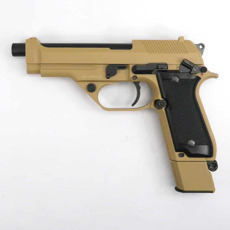 画像1: 【限定品】M93Rデザートスパルタン [タンカラー] ABS・BLK式ガスガン(KSC)