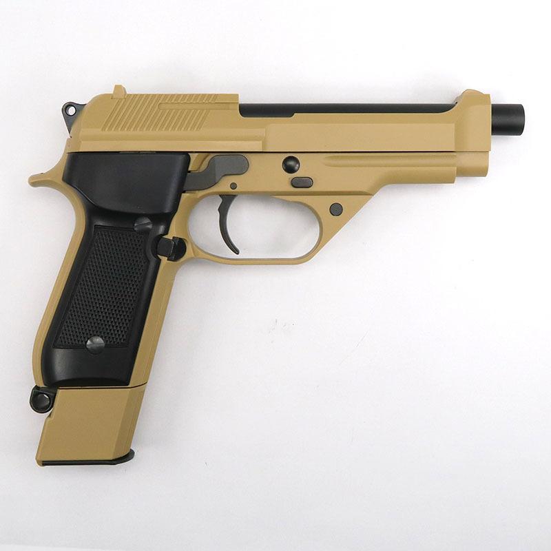 画像2: 【限定品】M93Rデザートスパルタン [タンカラー] ABS・BLK式ガスガン(KSC)