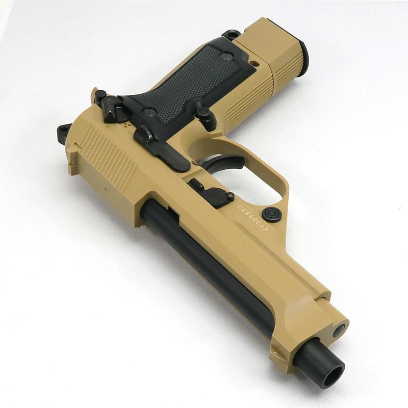 画像3: 【限定品】M93Rデザートスパルタン [タンカラー] ABS・BLK式ガスガン(KSC)