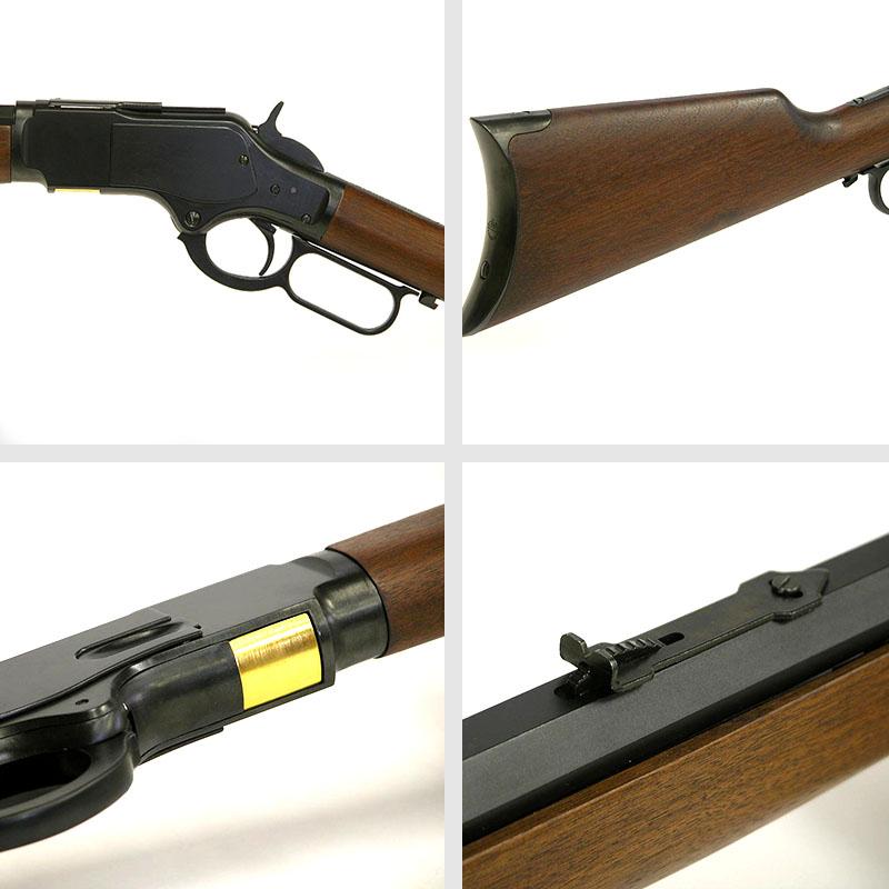 画像2: ウインチェスターM1873ライフル 金属/木製・エアガン(KTW)