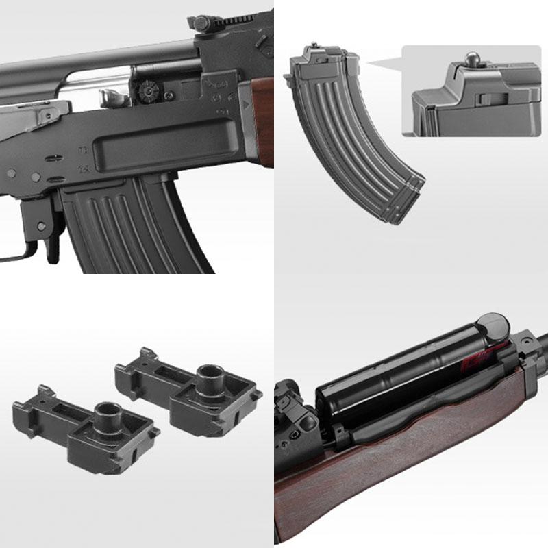 画像2: 【次世代電動ガン】 AK47 金属・電動エアガン(マルイ)