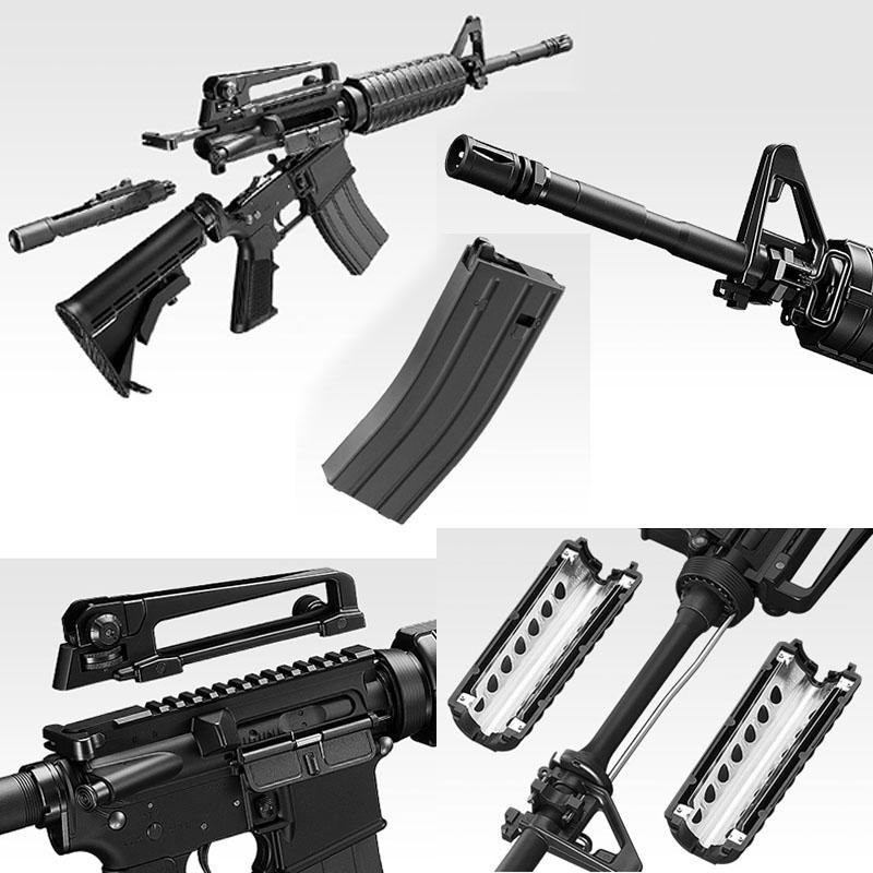 画像2: M4A1カービン 金属/ABS・BLKガスガン(マルイ)