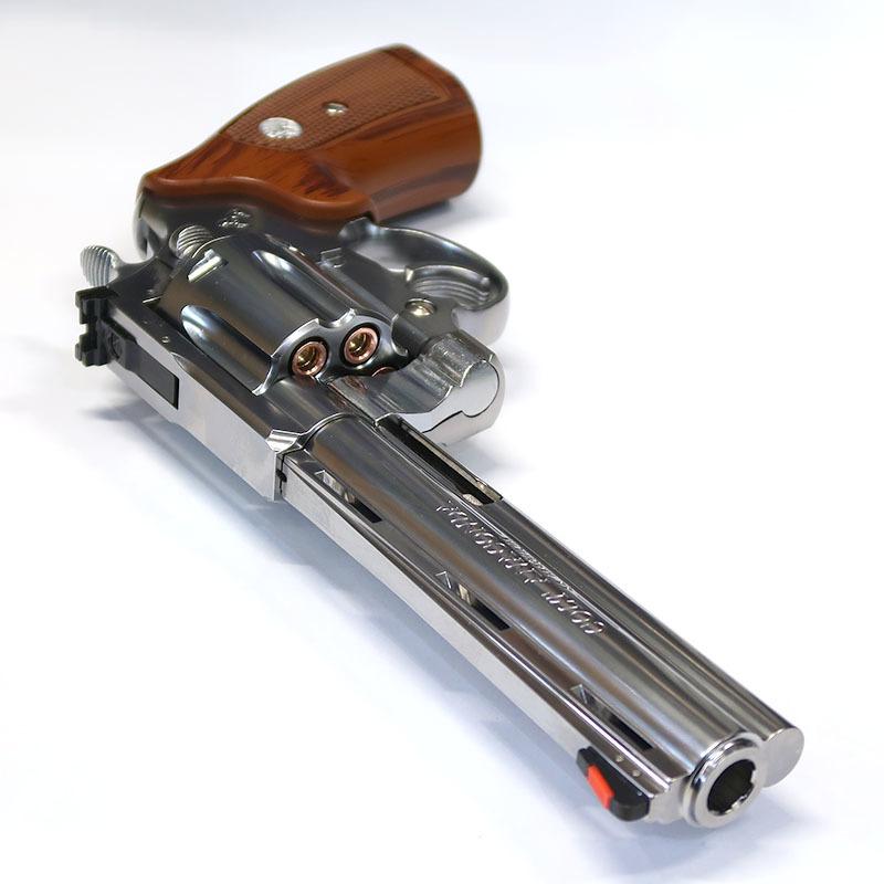 画像3:  コルト・アナコンダ .44マグナム・6インチ【6mmBB/Xカートリッジ】シルバーABS・ガスガン(マルシン)