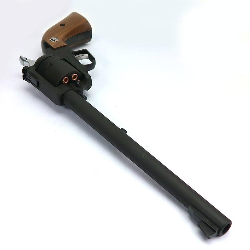 画像3: スーパー・ブラックホーク・10.5インチ[ブラックHW]木製グリップ仕様【6mmBB/Xカートリッジ】 HW・ガスガン(マルシン)