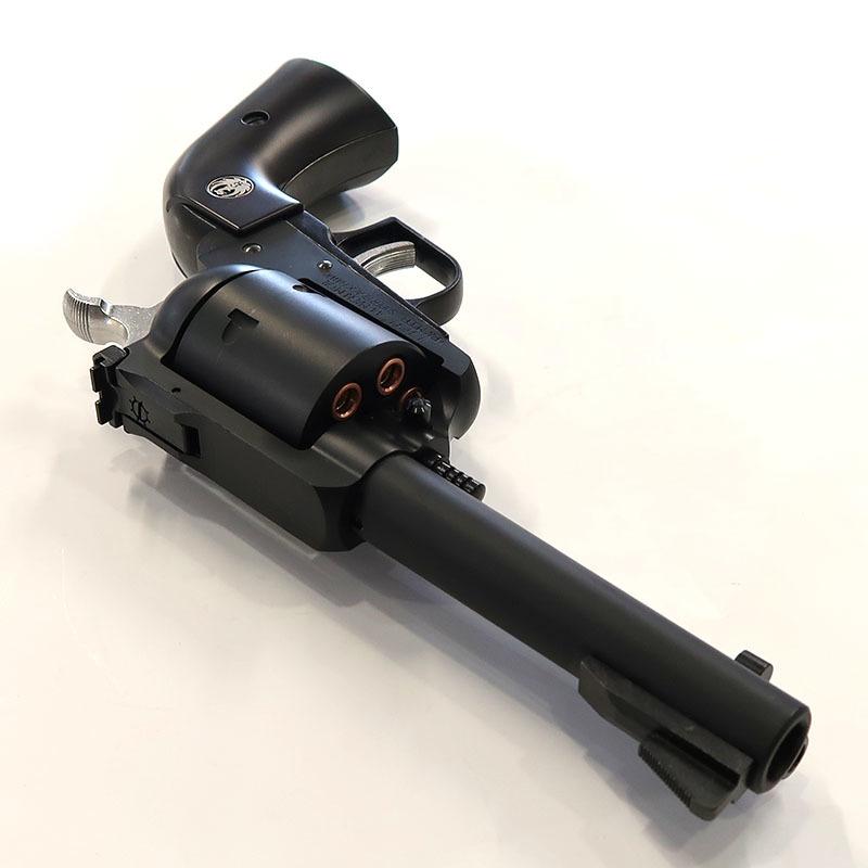 画像3: スーパー・ブラックホーク・4.62インチ【6mmBB/Xカートリッジ】プラグリップ マットブラックABS・ガスガン(マルシン)