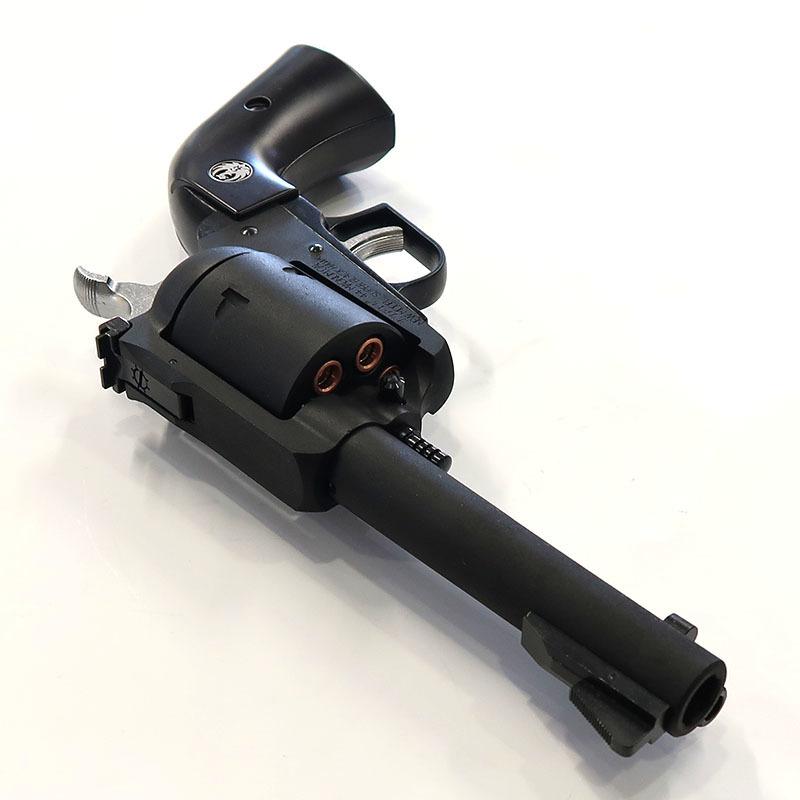 画像3: スーパー・ブラックホーク・4.62インチ【6mmBB/Xカートリッジ】プラグリップ ブラックHW・ガスガン(マルシン)