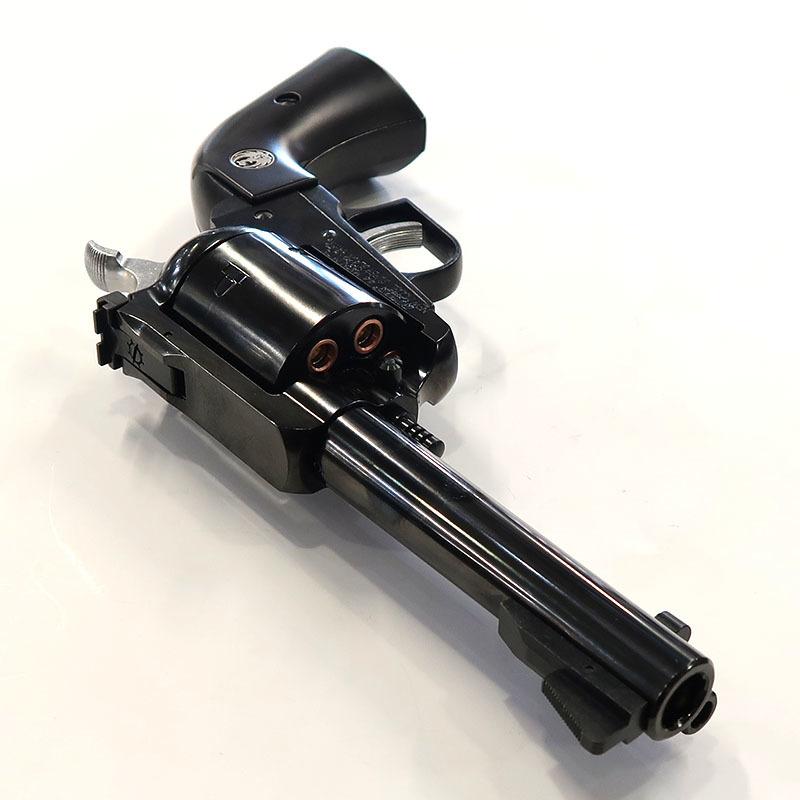 画像3: スーパー・ブラックホーク・4.62インチ【6mmBB/Xカートリッジ】プラグリップ WディープブラックABS・ガスガン(マルシン)