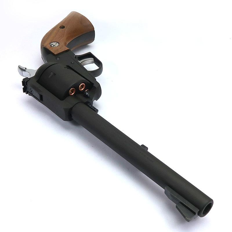 画像3: スーパー・ブラックホーク・7.5インチ[ブラックHW]木製グリップ仕様【6mmBB/Xカートリッジ】 HW・ガスガン(マルシン)