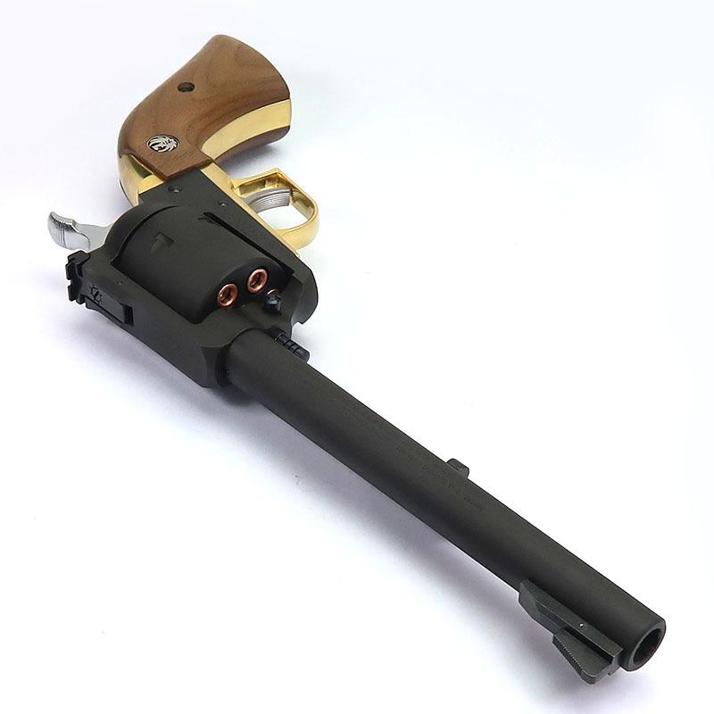画像3: スーパー・ブラックホーク・7.5インチ[ブラックHW]プレミアムゴールド/木製グリップ仕様【6mmBB/Xカートリッジ】 HW・ガスガン(マルシン)
