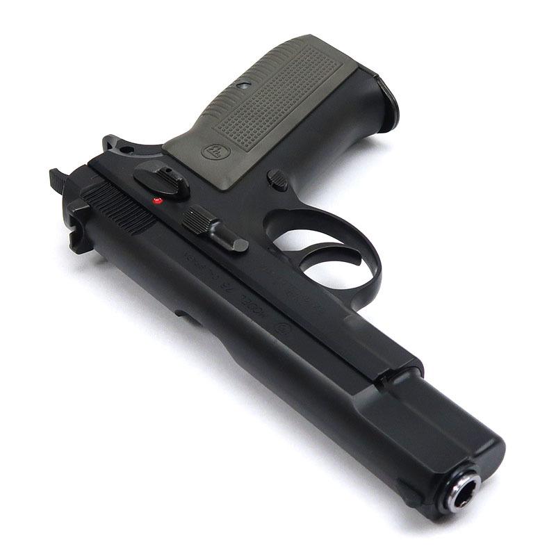 画像3: CZ75 [6mmBBカートリッジ排莢タイプ] マットブラック ABS・BLKガスガン(マルシン)