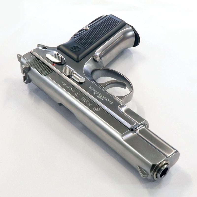 画像3: CZ75 [6mmBBカートリッジ排莢タイプ]  シルバーABS・BLKガスガン(マルシン)