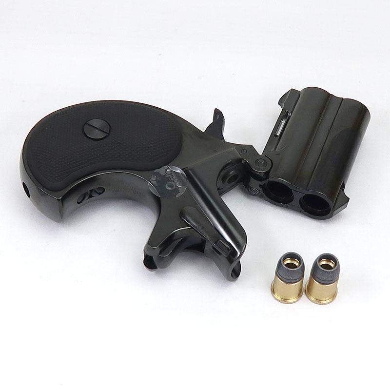 画像4: ミニミニ・デリンジャー・ダブルディープブラックABS【6mmBB/Xカートリッジ】 ABS製(マルシン)