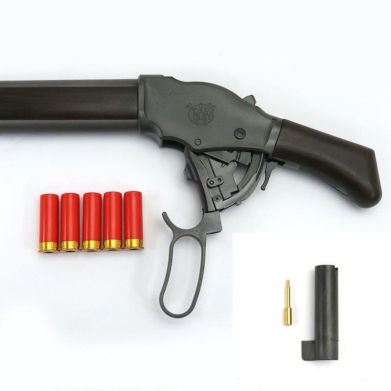 画像5: M1887ショート・エクセレントHW[木製ストックVer.]6mmBB EX-HW・ガスガン(マルシン)