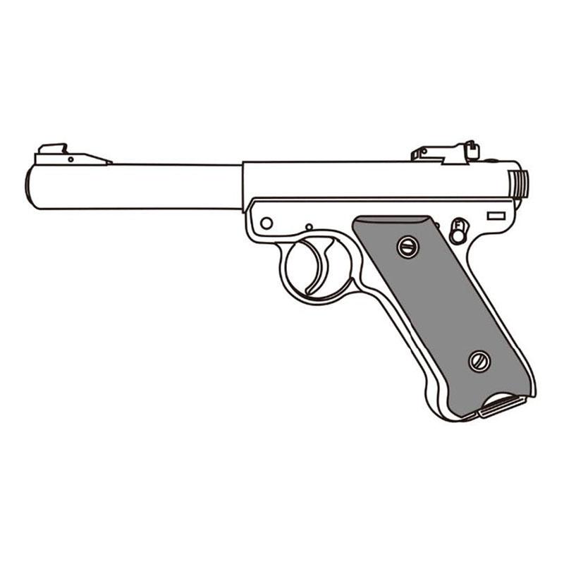 画像1: 【予約商品】Mk1 ブルバレル [6mmBB/固定ガスガン] シルバーABS(マルシン)