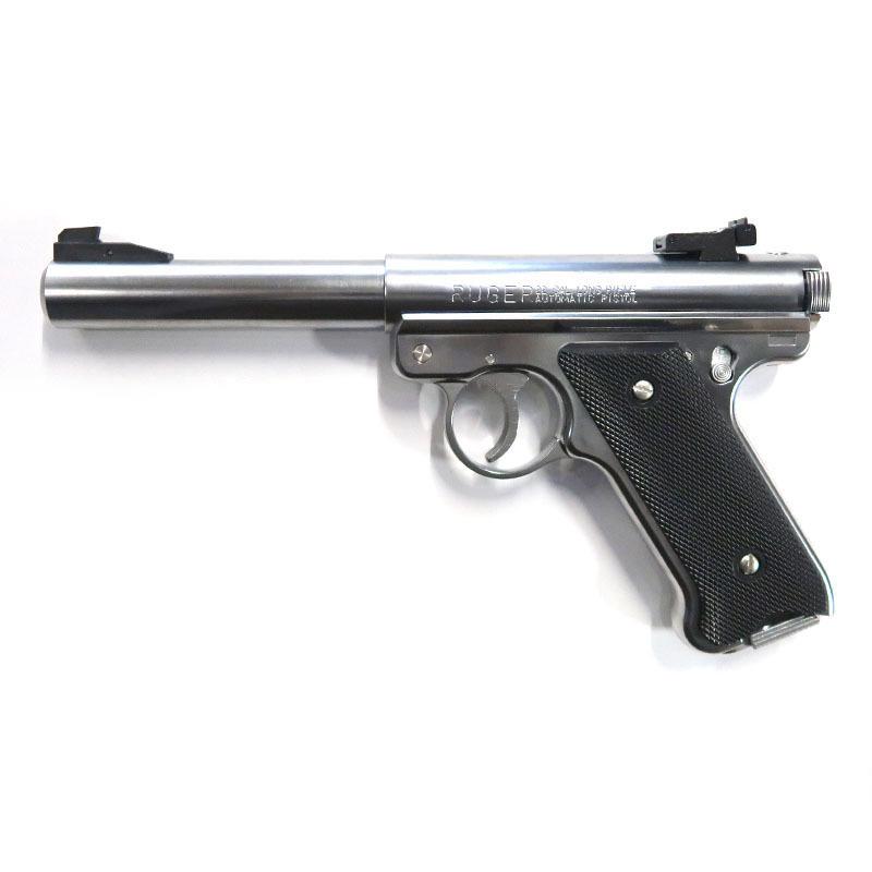 画像1: Mk1 ブルバレル [6mmBB/固定ガスガン] シルバーABS(マルシン)