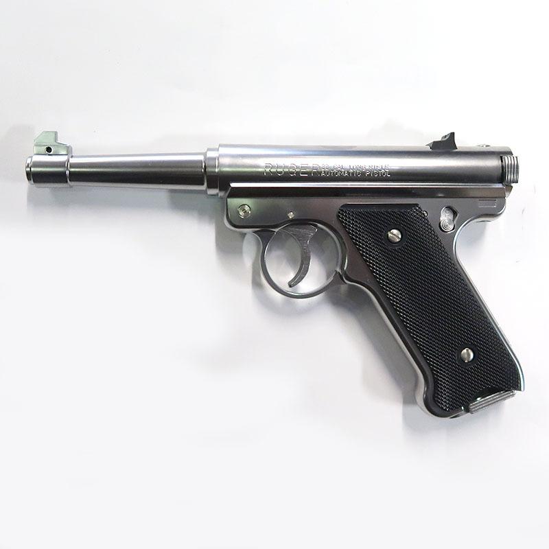 画像1: Mk1 ノーマルバレル [6mmBB/固定ガスガン] シルバーABS(マルシン)