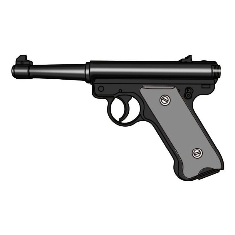 画像1: 【予約商品】Mk1 ノーマルバレル [6mmBB/固定ガスガン] WディープブラックABS(マルシン)