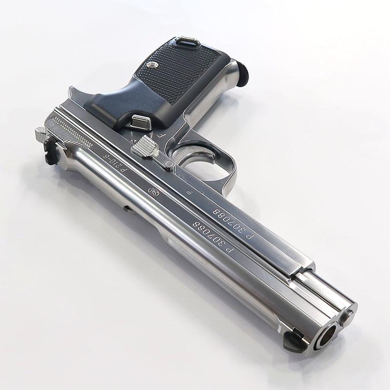 画像3: SIG P210 [6mmBB] シルバーABS・BLKガスガン(マルシン)