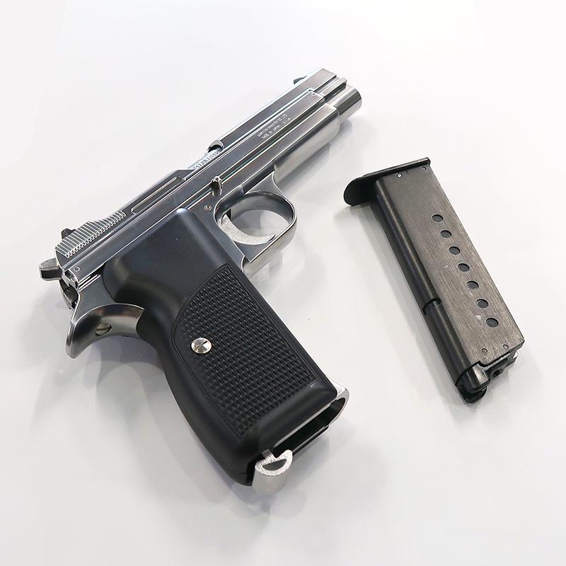 画像4: SIG P210 [6mmBB] シルバーABS・BLKガスガン(マルシン)