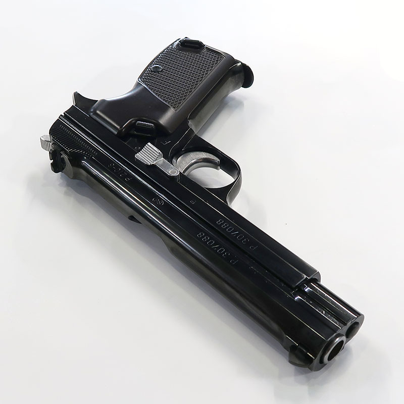 画像3: SIG P210 [6mmBB] WディープブラックABS・BLKガスガン(マルシン)
