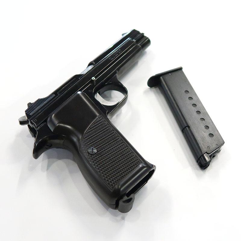 画像4: SIG P210 [6mmBB] WディープブラックABS・BLKガスガン(マルシン)