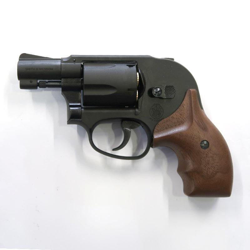 画像1: S&W M49ボディガード・2インチ・木製グリップ付【6mmBB/Xカートリッジ】 HW・ガスガン(マルシン)