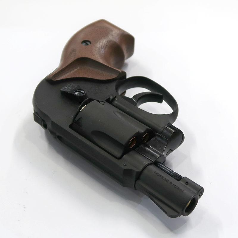 画像3: S&W M49ボディガード・2インチ・木製グリップ付【6mmBB/Xカートリッジ】 HW・ガスガン(マルシン)
