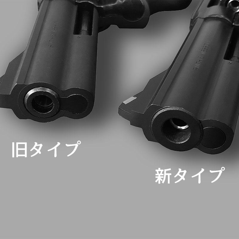 画像2: 【予約受付中】S&W M586 [6mmBB/Xカートリッジ] 木製グリップ WディープブラックABS(マルシン)