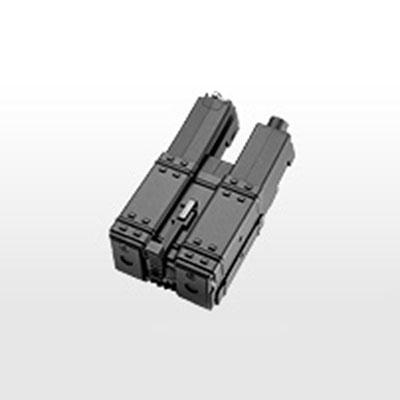 画像1: MP5シリーズ(スタンダード電動ガン)共通220連射ダブル・ショートマガジン[ハイサイクル対応] (マルイ)