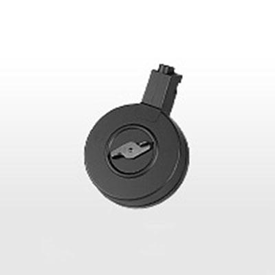 画像1: MP5シリーズ(スタンダード電動ガン)共通400連射ドラムマガジン[ハイサイクル対応] (マルイ)