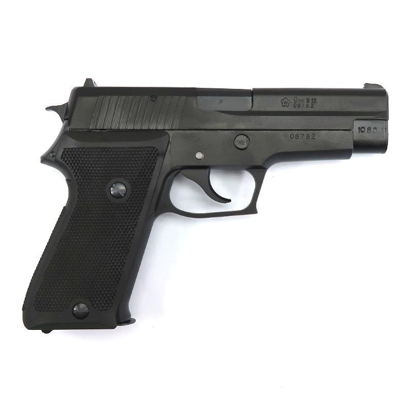 画像2: SIG P220 IC 9mm拳銃[陸上自衛隊] HW・BLKガスガン(タナカ)
