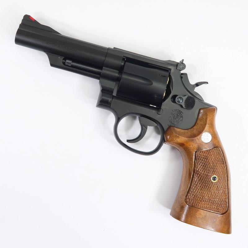 画像1: S&W M19・4インチ・コンバットマグナム Ver.3 HW・ガスガン(タナカ)