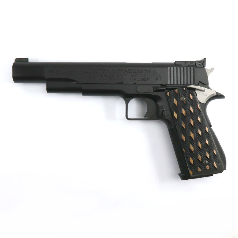 """画像1: 【新品特価品】クラーク・ボウリング・ピン・モデル """"PIN GUN"""" オールブラック HW・BLKガスガン(WA)"""