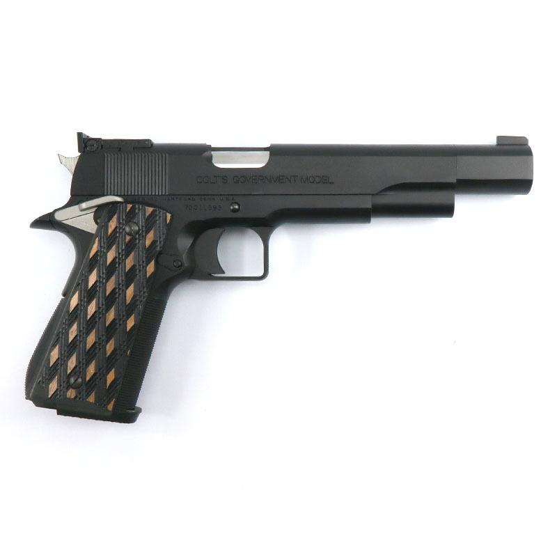 """画像2: 【新品特価品】クラーク・ボウリング・ピン・モデル """"PIN GUN"""" オールブラック HW・BLKガスガン(WA)"""
