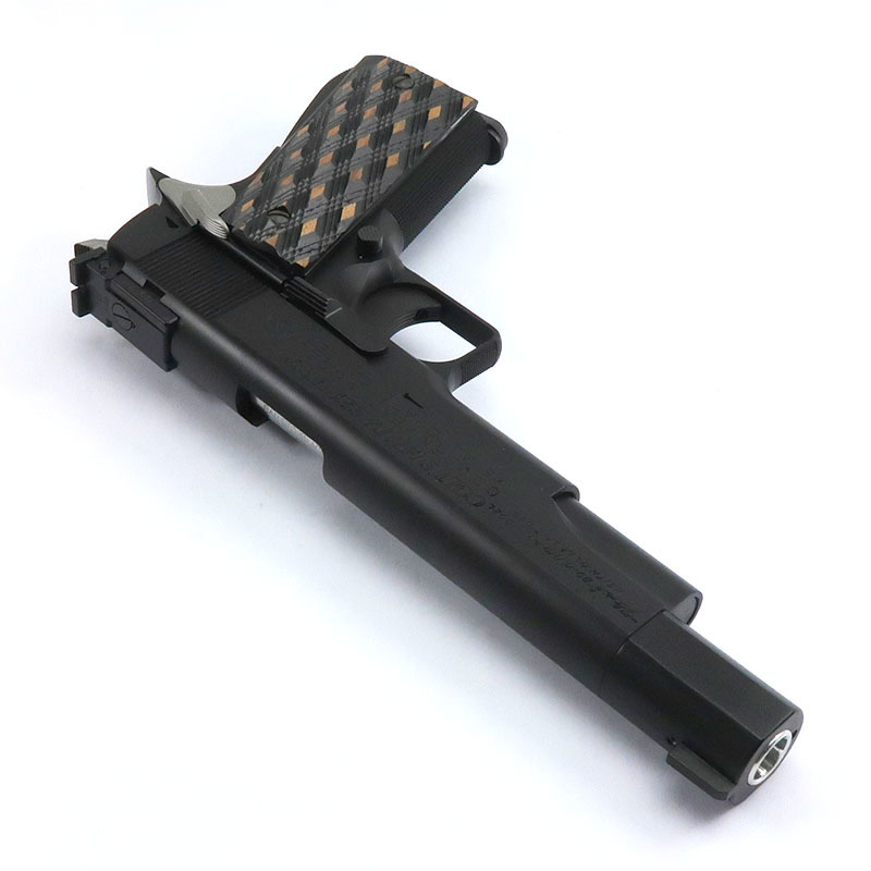 """画像3: 【新品特価品】クラーク・ボウリング・ピン・モデル """"PIN GUN"""" オールブラック HW・BLKガスガン(WA)"""
