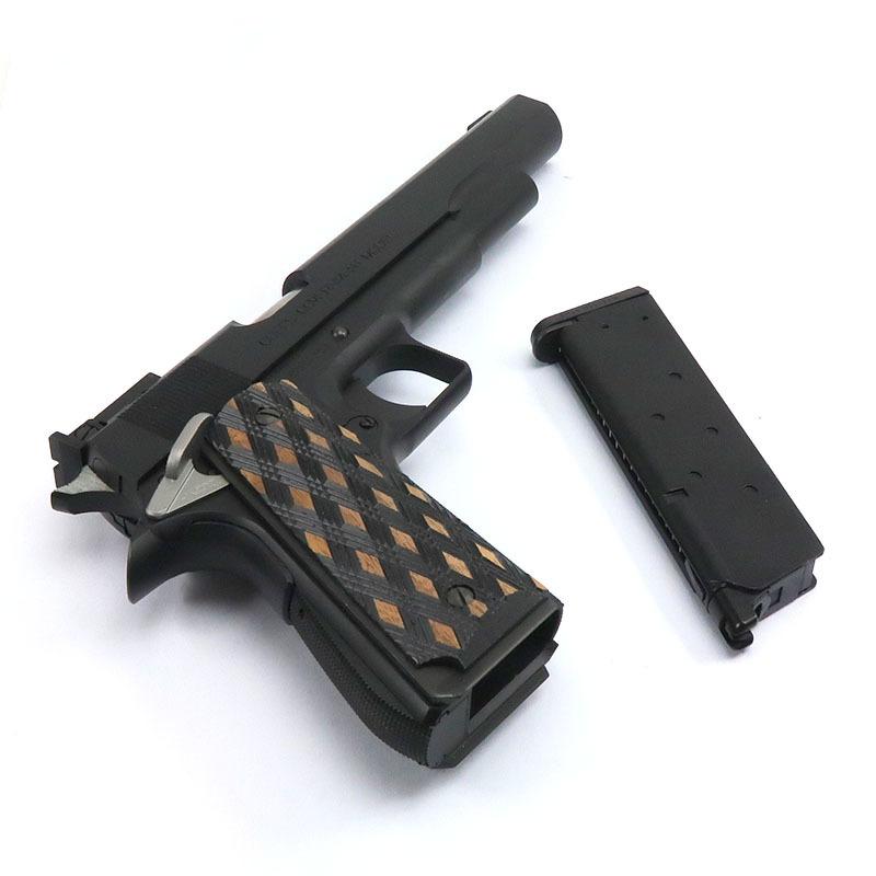 """画像4: 【新品特価品】クラーク・ボウリング・ピン・モデル """"PIN GUN"""" オールブラック HW・BLKガスガン(WA)"""